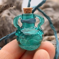Emerald bottle
