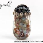 коллекционная бусина лэмпворк