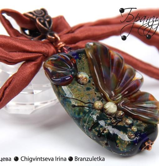 бабочка лэмпворк