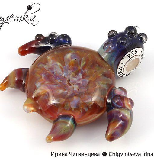 черепаха кулон