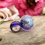 Космос стеклянный шар