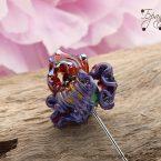 Iris purple metallic
